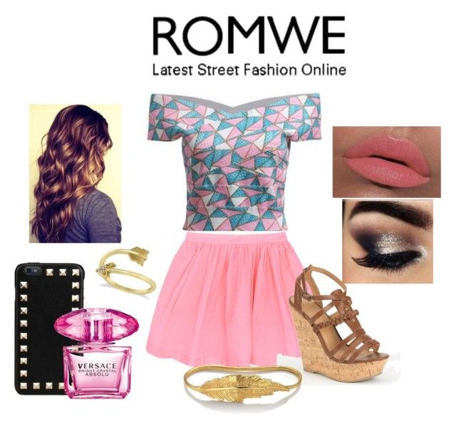 """""""Geometric Top"""" by polyvore4life22 ❤ liked on Polyvore"""
