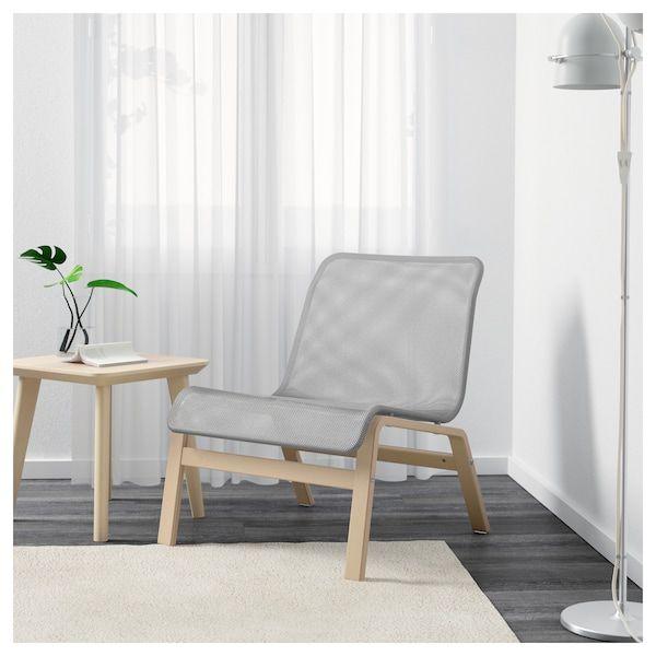 nolmyra fauteuil relax bouleau plaqué gris ikea canada