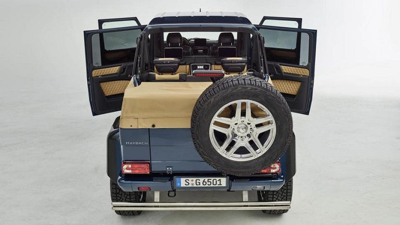 Mercedes Maybach G650 Landaulet Interior With Images Mercedes