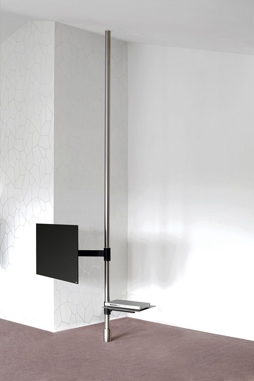 Wissmann Raumobjekte Porta Tv Girevole.Tv Holder Post Art129 2 Product Design Wissmann Raumobjekte
