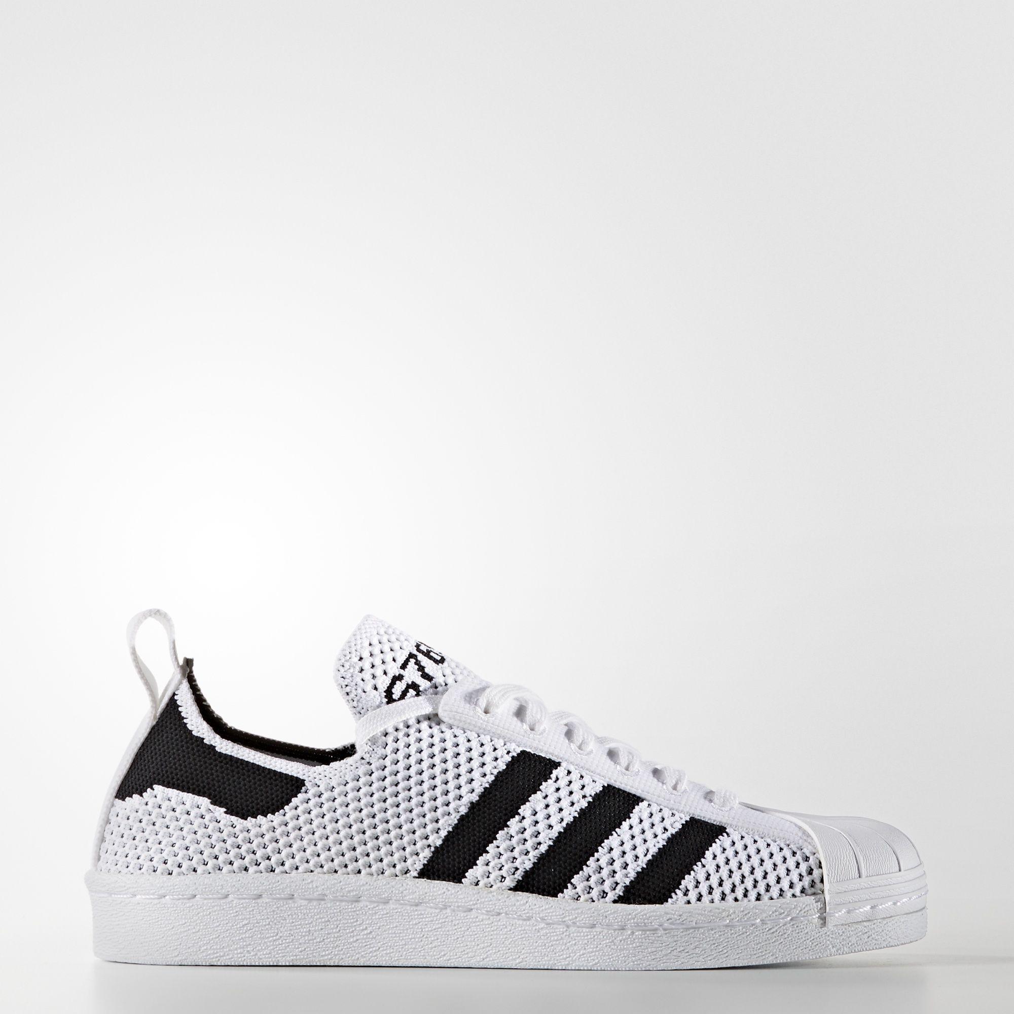 adidas Superstar 80s Primeknit Slip on Schoenen Adidas  Adidas