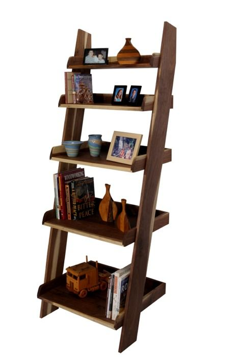 Ladder Shelf Click To Enlarge Decorating Bookshelf Plans