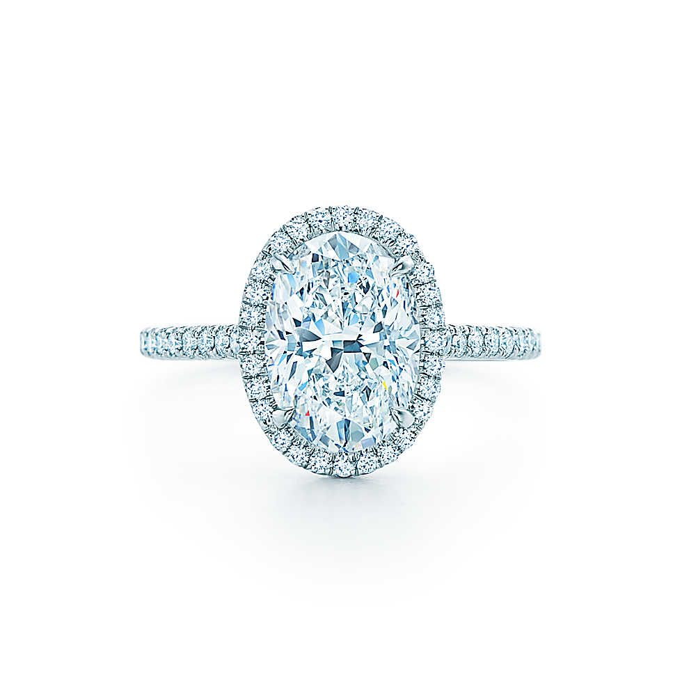 Tiffany Soleste 174 Oval Oval Engagement Rings Oval