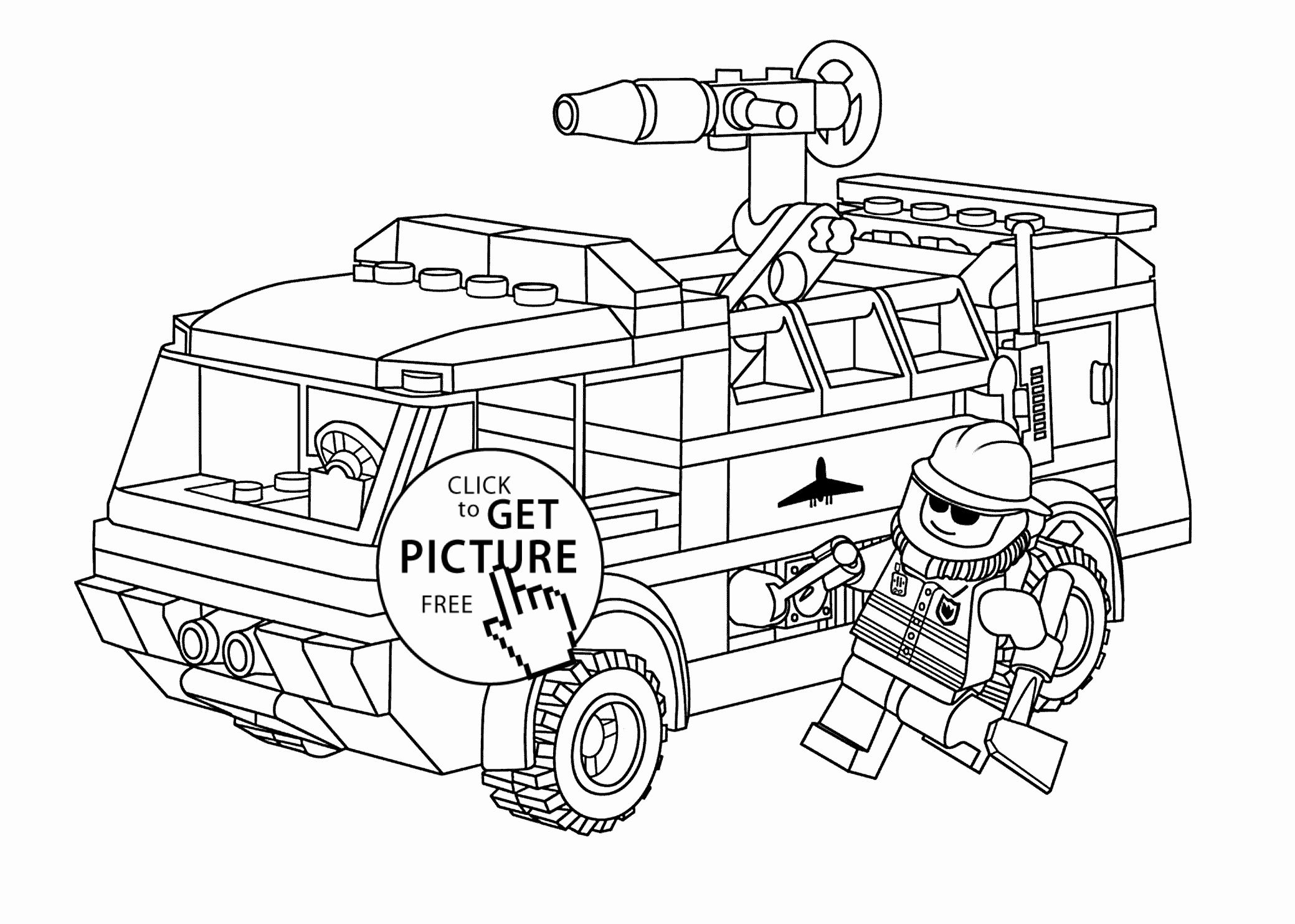 28 Fire Truck Coloring Page In 2020 Monster Truck Coloring Pages