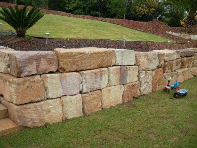 Retaining Wall Sunshine Coast Area Img3 Garden Retaining Wall Wall Exterior Retaining Wall