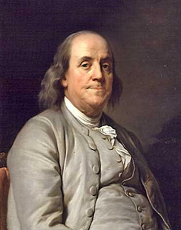 Dünyadaki ünlü Masonlarbenjamin Franklin Masonluk Benjamin