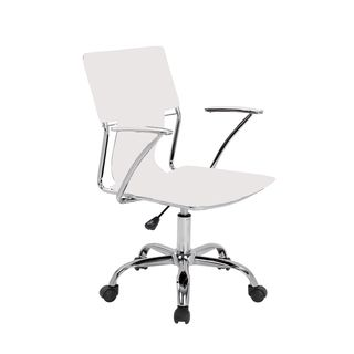 dorado office chair warren works star with fixed padded arms and chrome finish overstock shopping the best prices on products task chairs