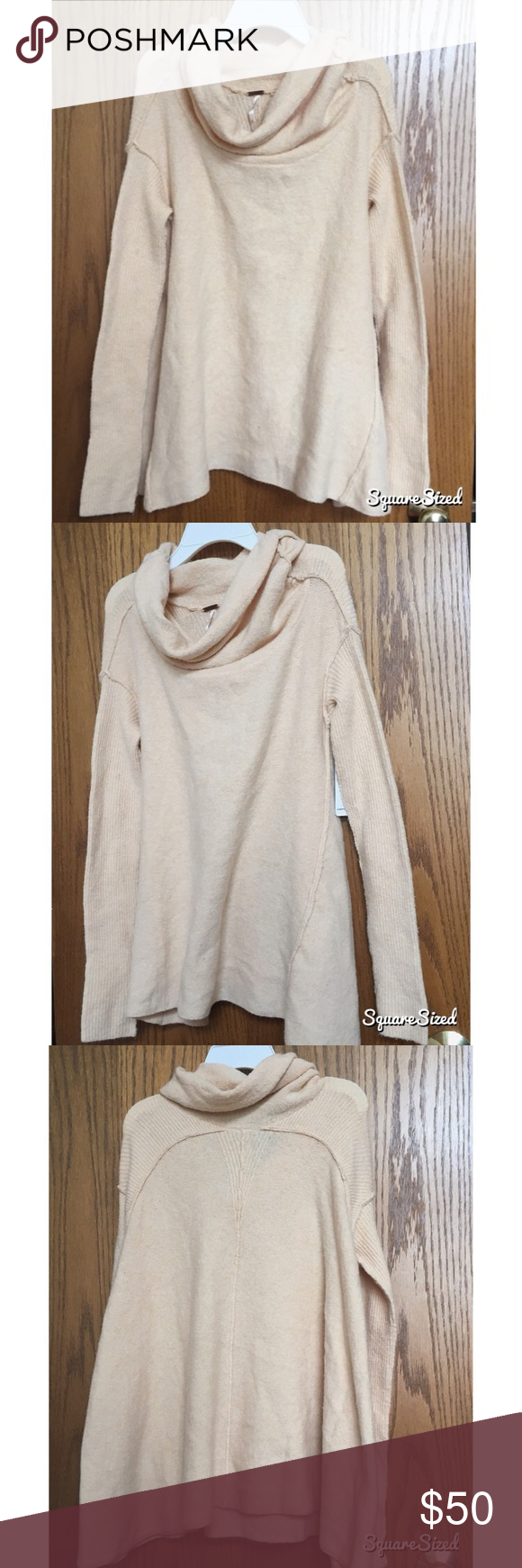 NWT Free People Cowl Neck Sweater NWT | Cowl neck, Free people and ...