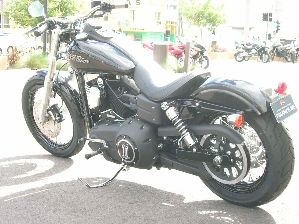 Street bob semi drag bars   motorcycles   Street bob ... Harley Davidson Dyna Street Bob Drag Bars