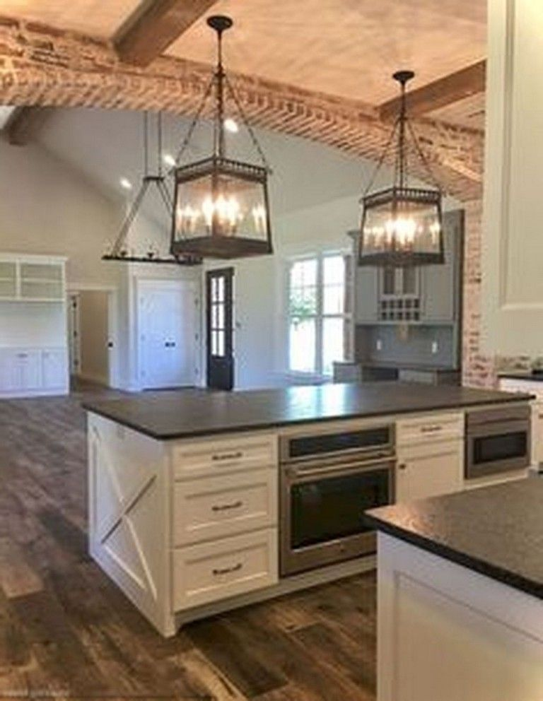 30+ Pervect Difference Farmhouse Kitchen Cabinets  Page 38 of 38 is part of Home Accessories Design Kitchen Cabinets - If you are trying to design the current day farmhouse kitchen of your fantasies, search