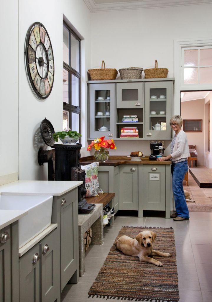 Swedish Style Free Standing Kitchen Units From Milestone Kitchens