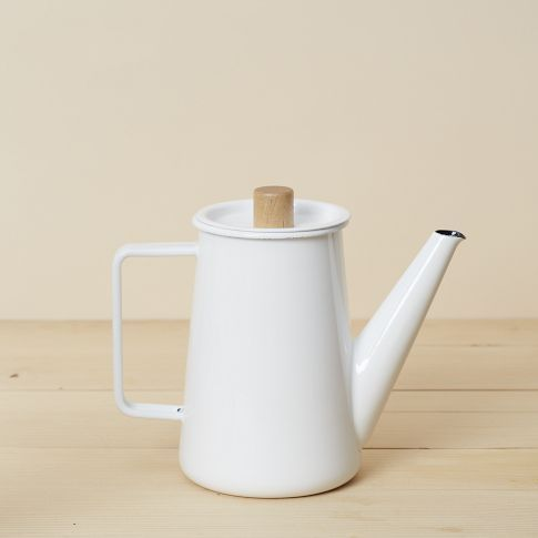 Enamel Coffee Pot #coffeepots