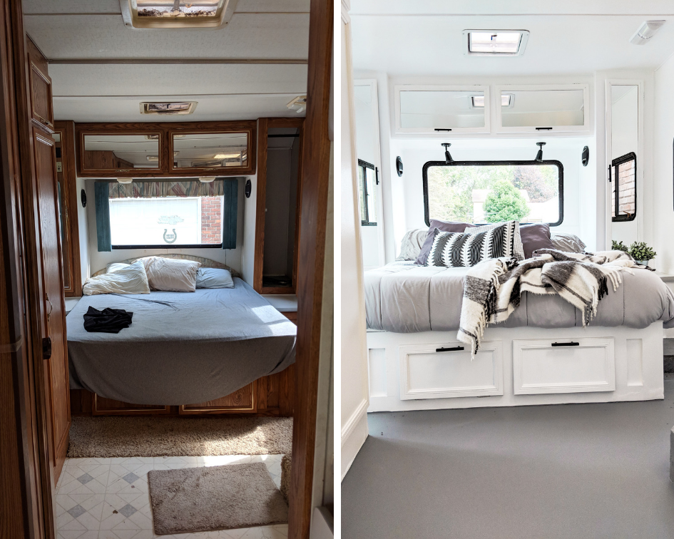 Our 90 S Rv Renovation Remodeled Campers Home Home Decor