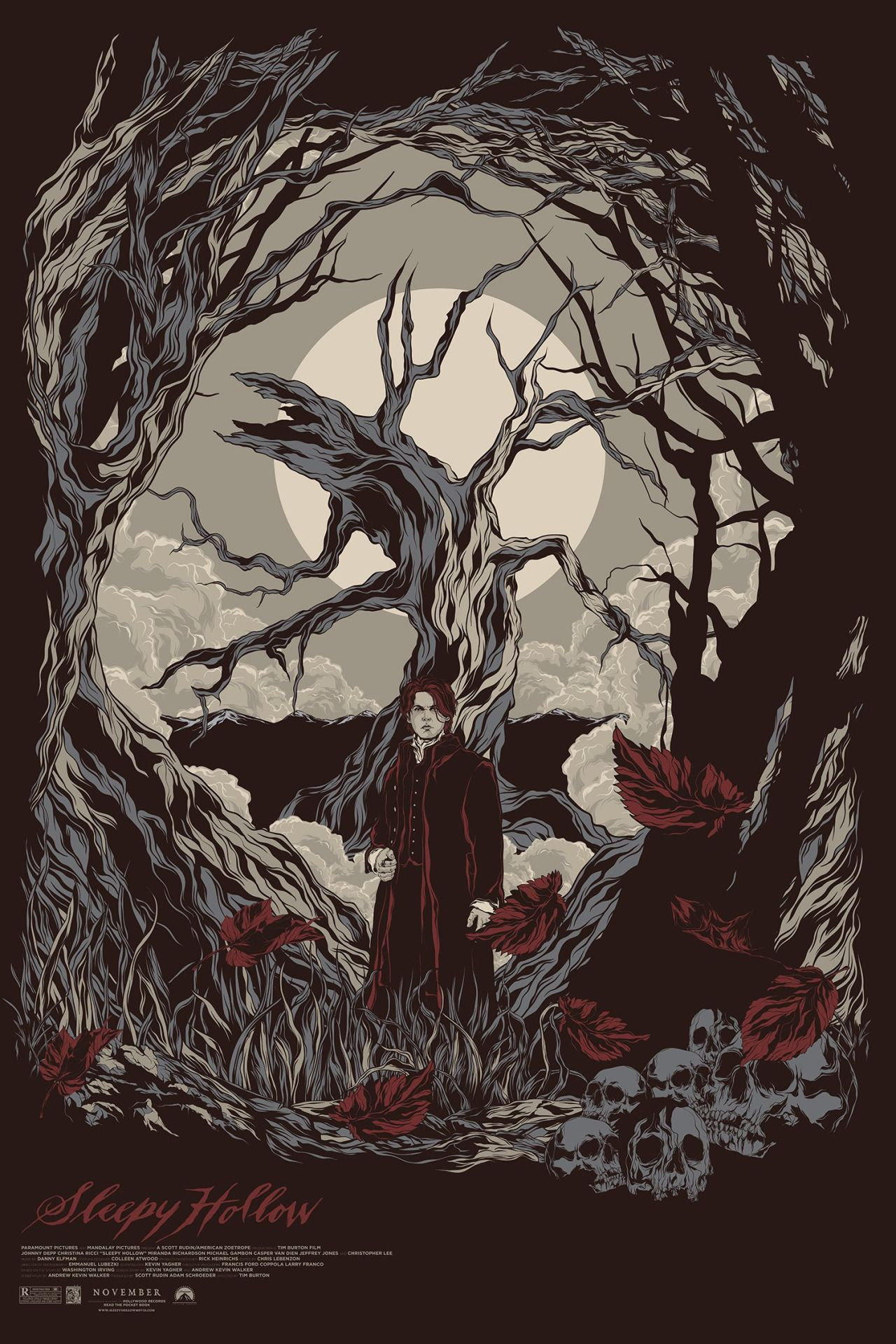 Sleepy Hollow By Mainger Germain With Images Sleepy Hollow Poster