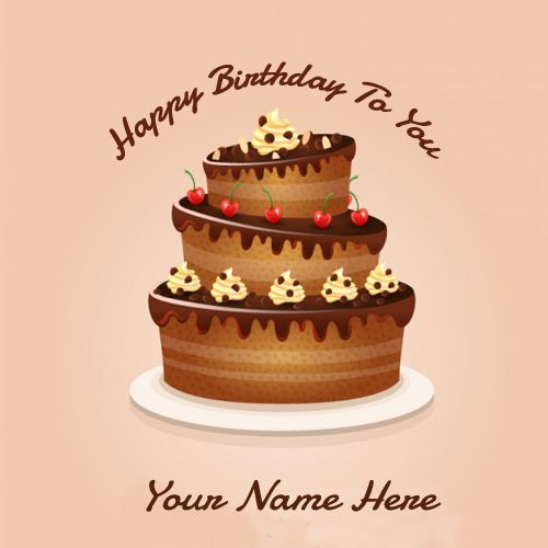 Happy Birthday Wish Chocolate Greetings Cards Online – Birthday Greeting Cards with Name