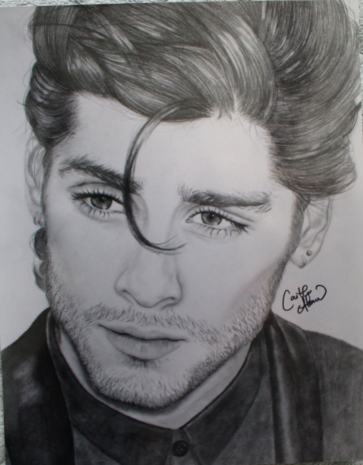 Zayn Malik Pencil Easy Drawing Photos