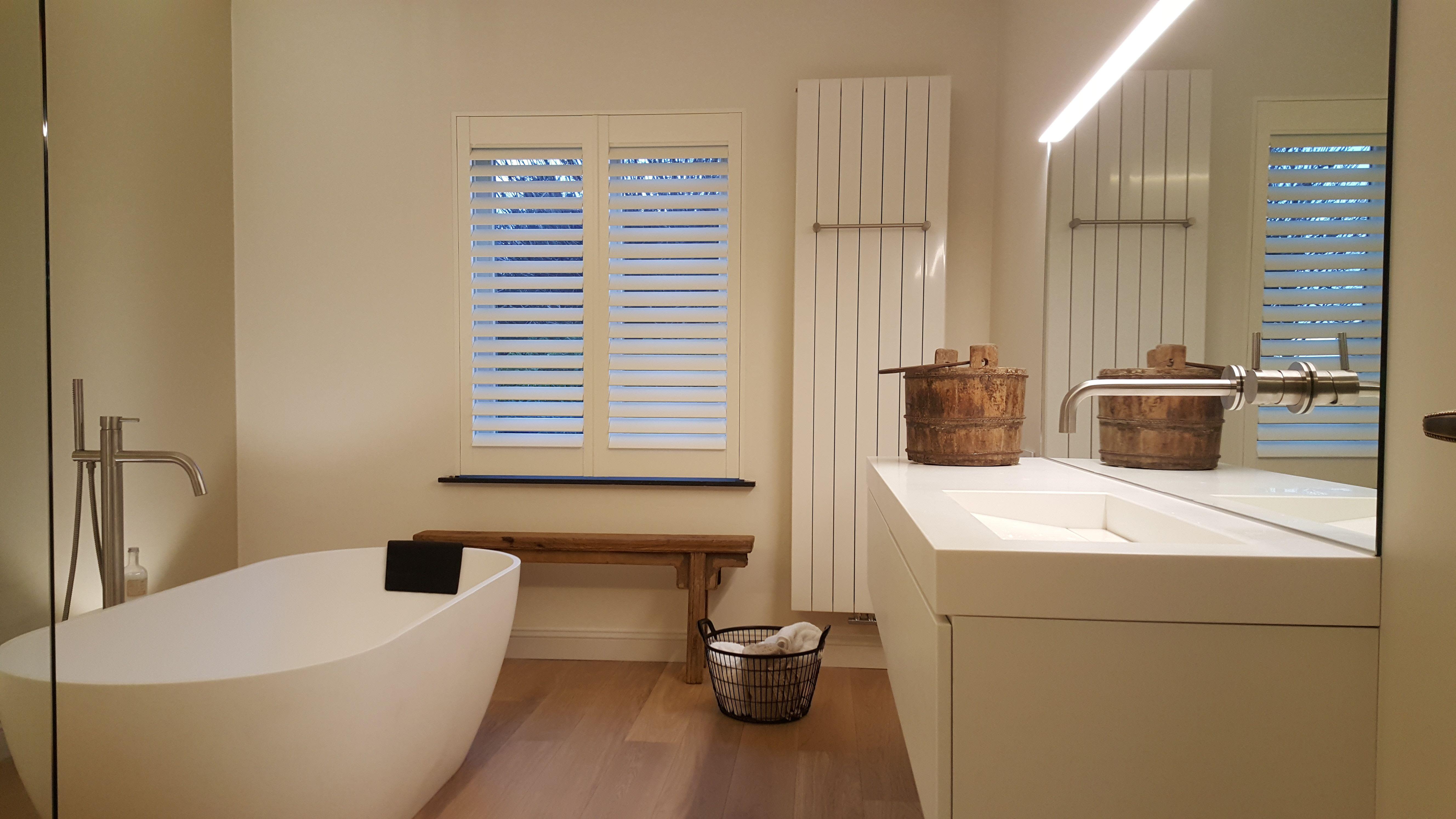 Praxis op zoek naar raamdecoratie voor in je badkamer kijk dan