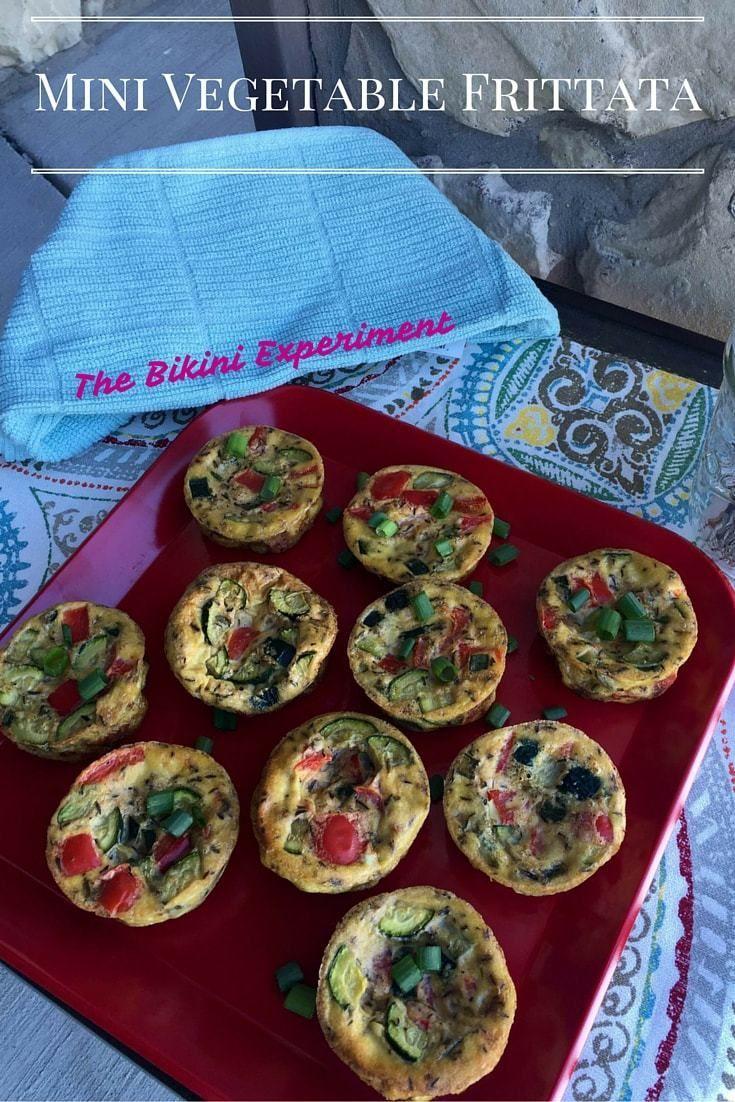 Mini Vegetable Frittata Recipe Healthy breakfast