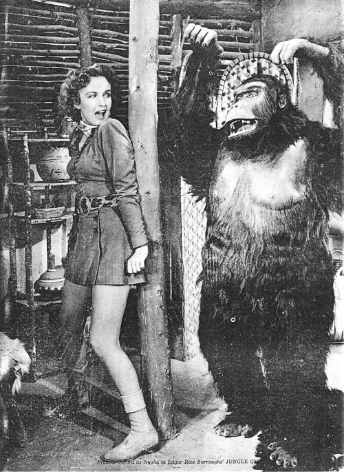 Image result for images of frances gifford in JUNGLE GIRL