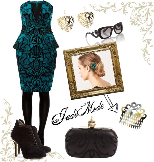 """""""Baroque Style"""" by maryjade92 ❤ liked on Polyvore"""