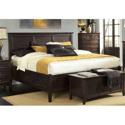 A-America Westlake Storage Panel Bed Size: King | For the Home ...