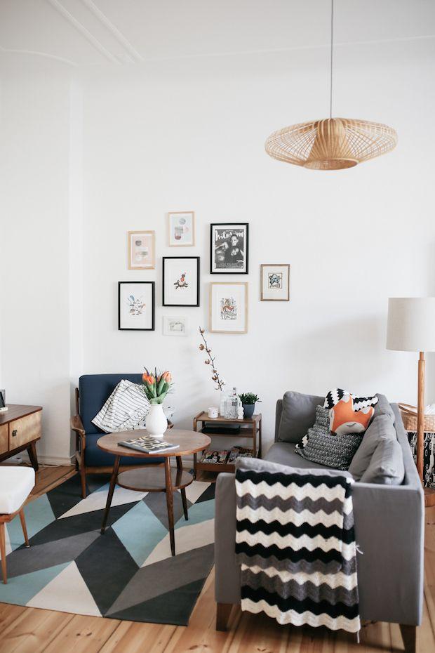 Cliquez ici pour découvrir un appartement à la décoration scandinave et rétro à berlin