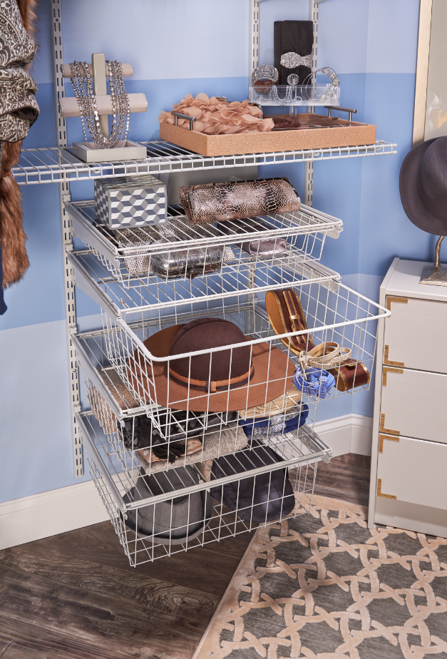 Showcase All Your Favorite Accessories In Our 4 Drawer Wire Kits