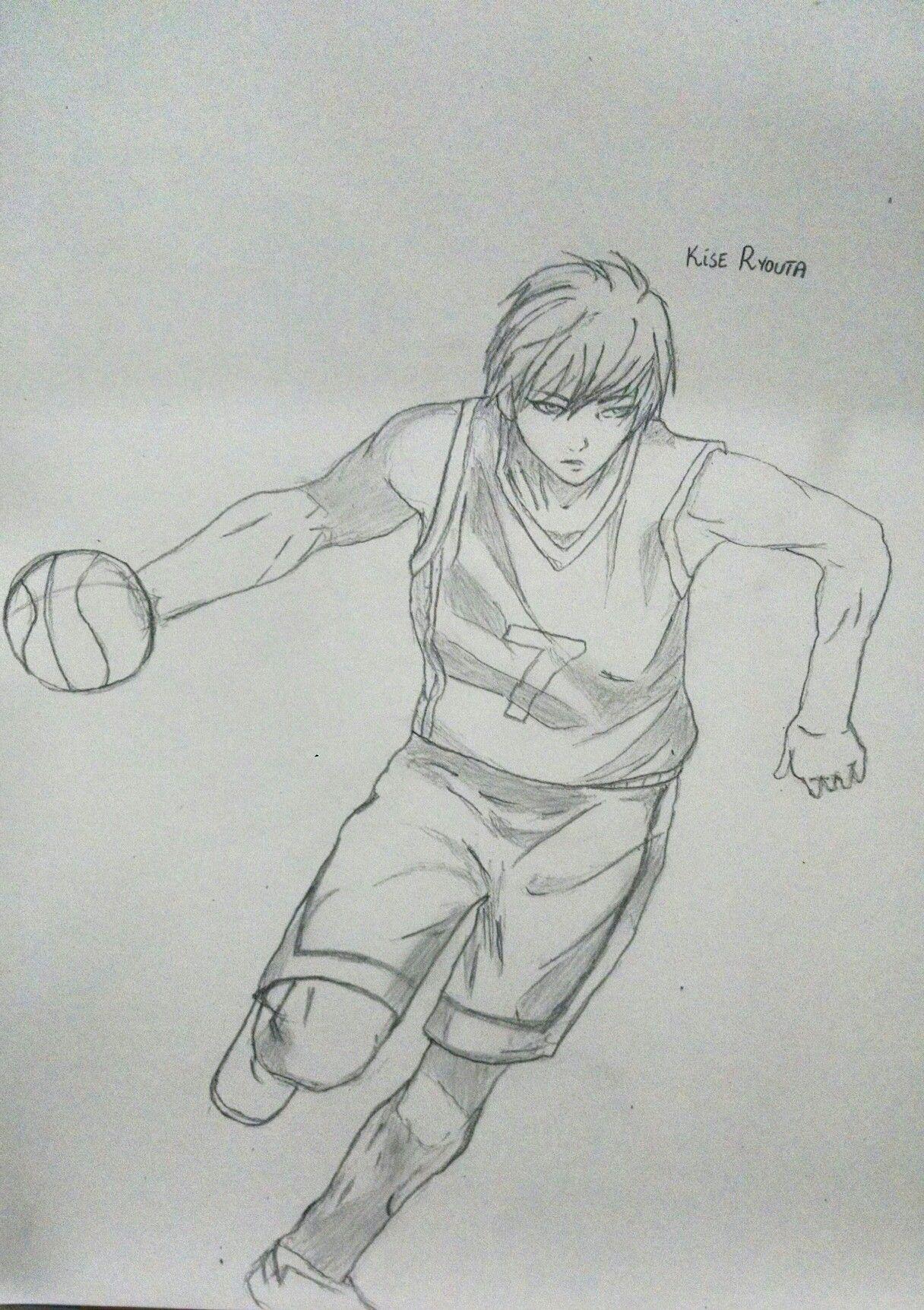 Kise ryouta sketch pencil art kuroko no basuke anime