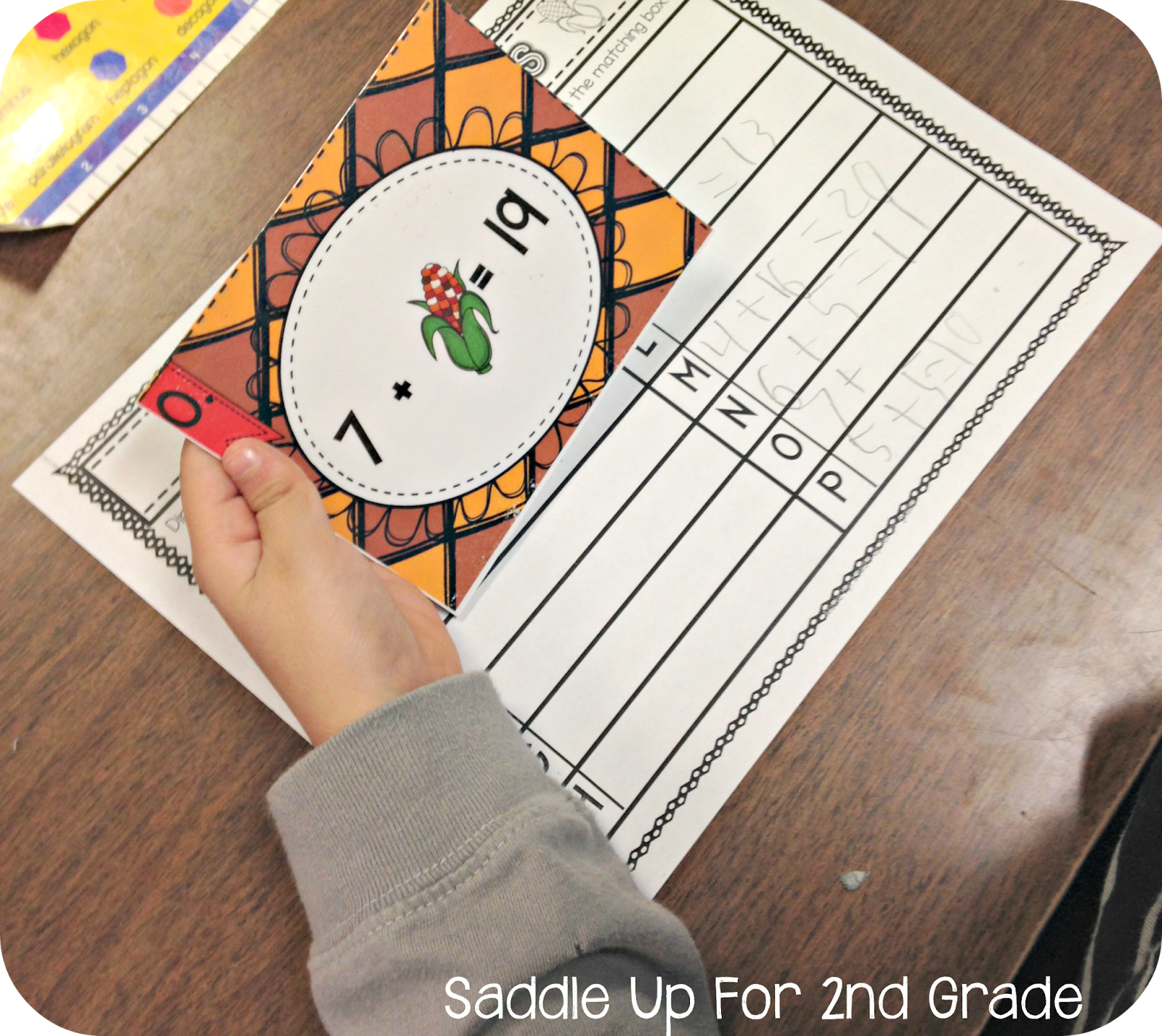 Gobble Gobble Math Stations With Images