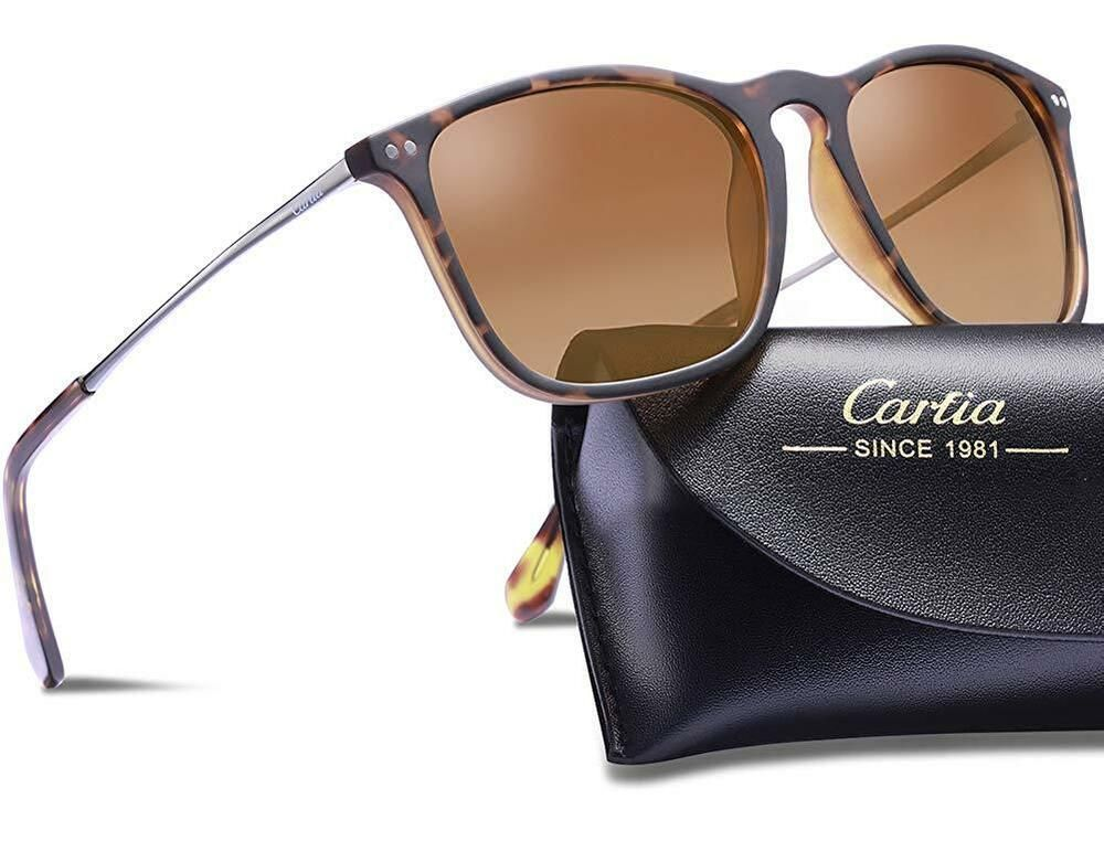 59ca9d0aad Carfia Polarized Sunglasses for Women Men Vintage Style 100% UV400  Protection Wo  affilink  polarizedsunglasses  womensunglasses   mensunglasses ...