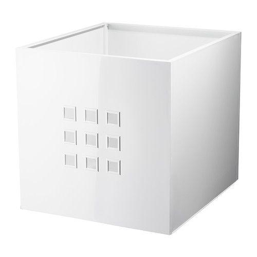 LEKMAN Škatuľa - biela - IKEA