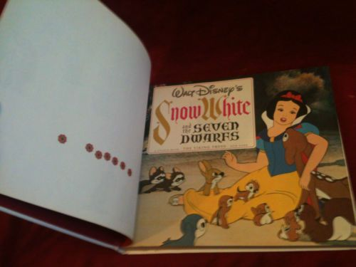 Snow White and the Seven Dwarfs Coffee Table Book, 1979 Viking Press Walt Disney