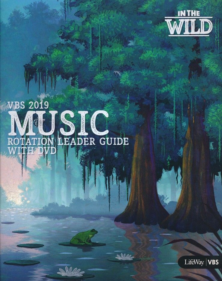 In The Wild: Music Rotation Leader Guide with DVD | VBS