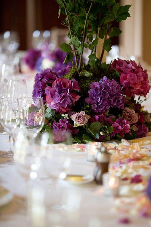 Opulent purple arrangement Fabulous Flowers, Oxford Fabulous