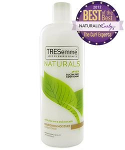 Tresemme Naturals conditioner- Products I Love #natural hair #3c #4a.  I use this as a co wash - it is wonderful