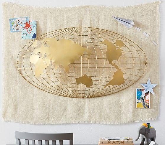 3D Map Wall Decor | Pottery Barn Kids | Kid\'s Artwork & Decor ...