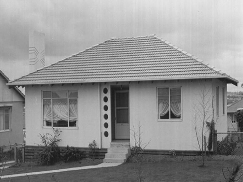 House · 1950 Home Design ...
