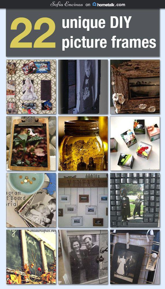 22 Unique Diy Picture Frames Idea Box By Sofia Encinas Diy