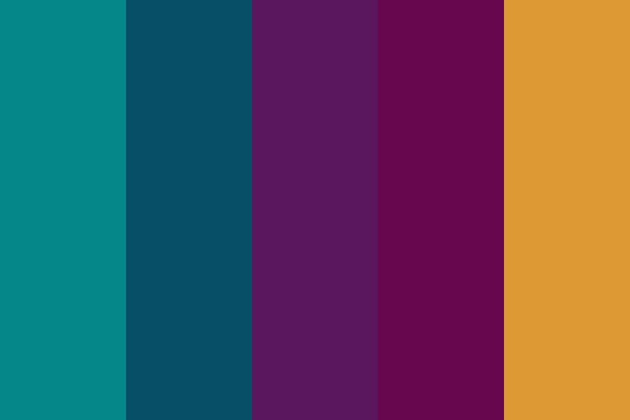 Jewel Tones Color Palette Inspiration For Fall Family Photo