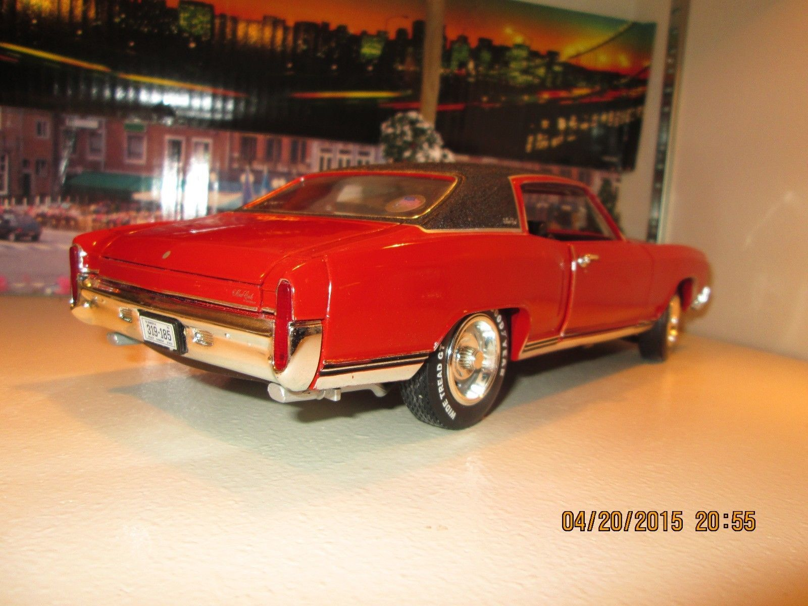1970 monte carlo ss 454 1 18 ertl american muscle hobby edition 1 of 5000 rare