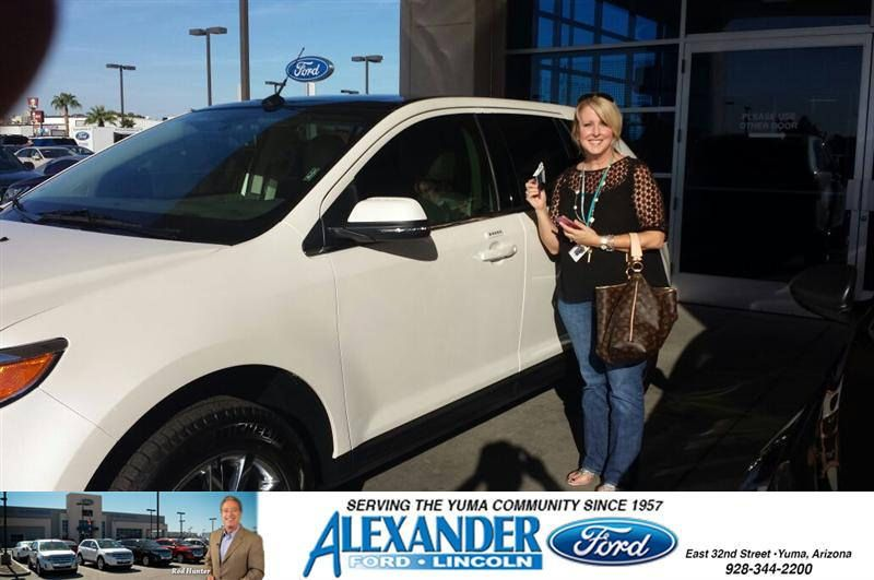 Congratulations To Lisa Nickel On Your Ford Edge Purchase From