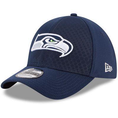7c68ff33c03732 Seattle Seahawks New Era 2017 Color Rush Kickoff Reverse Team 39THIRTY Flex  Hat – Navy