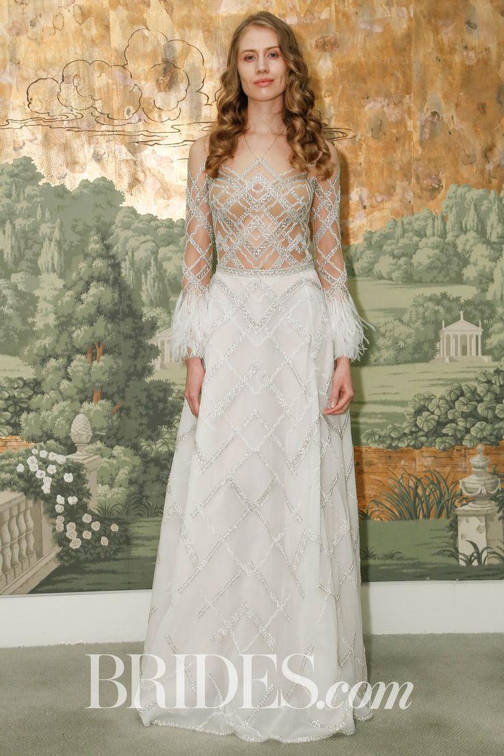 Best aline wedding dress idan cohen spring wedding dress
