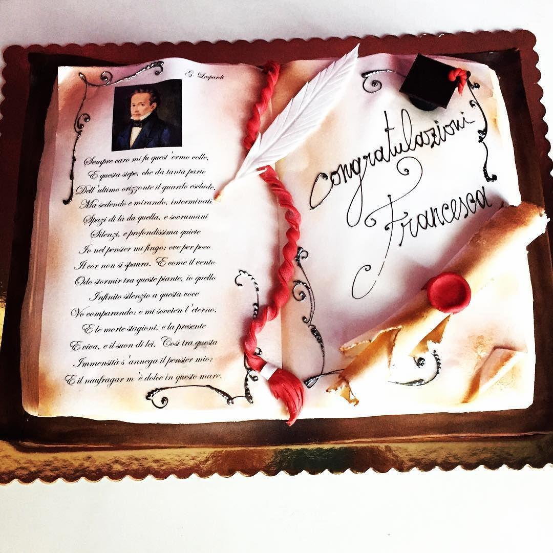 Torta Laurea   Congratulazioni Francesca