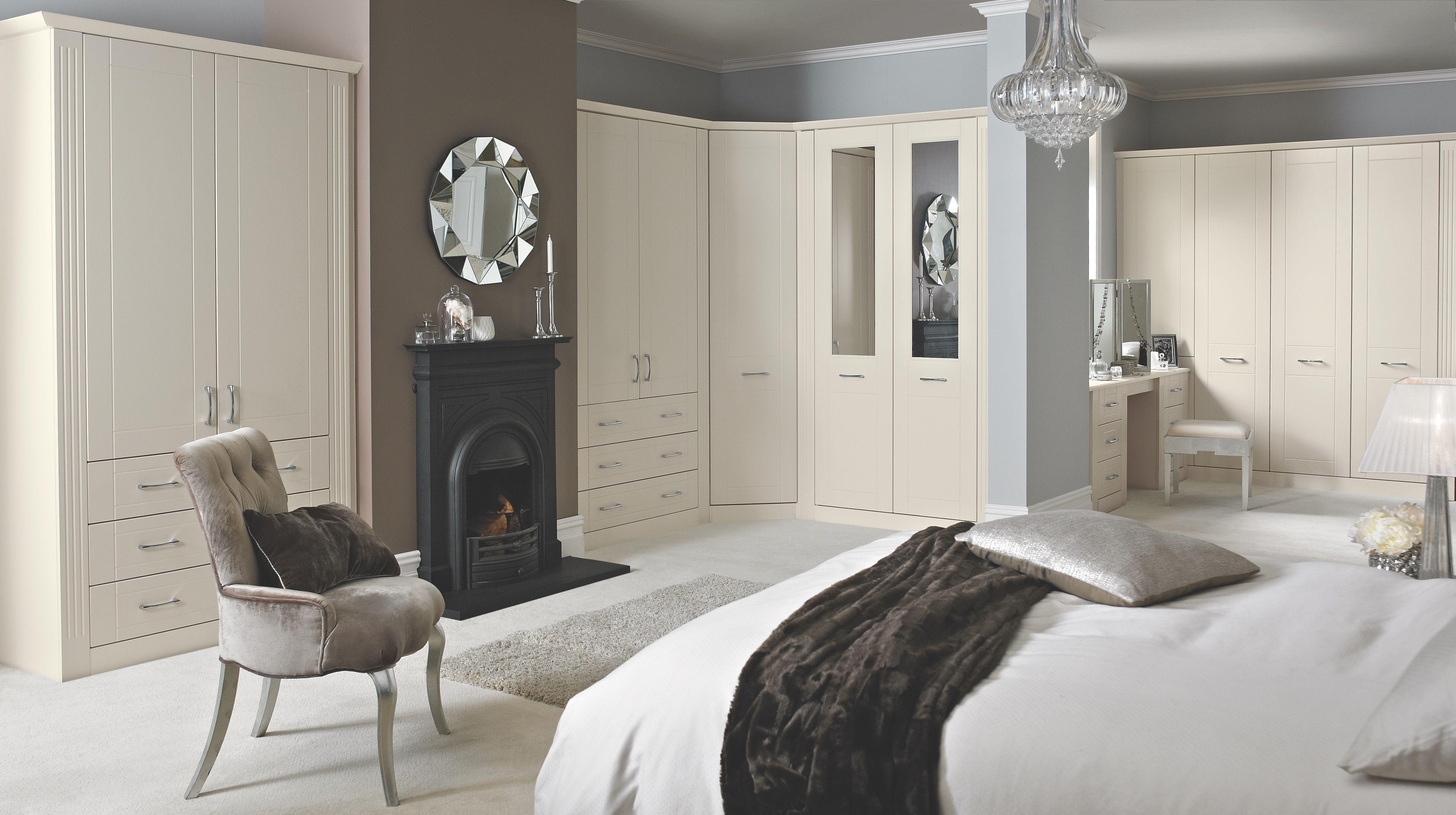 My Fitted Bedroom Isabella Bedroom In Cream Bedroom Inspiration Bedroom Ideas Large Bedrooms Fitted Wa Ceiling Design Bedroom Bedroom Layouts Small Bedroom