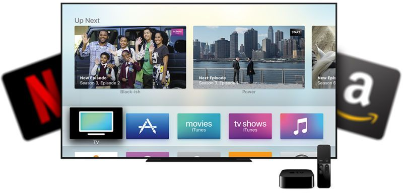 Apple's New TV App Is Worthless Without Netflix and Amazon