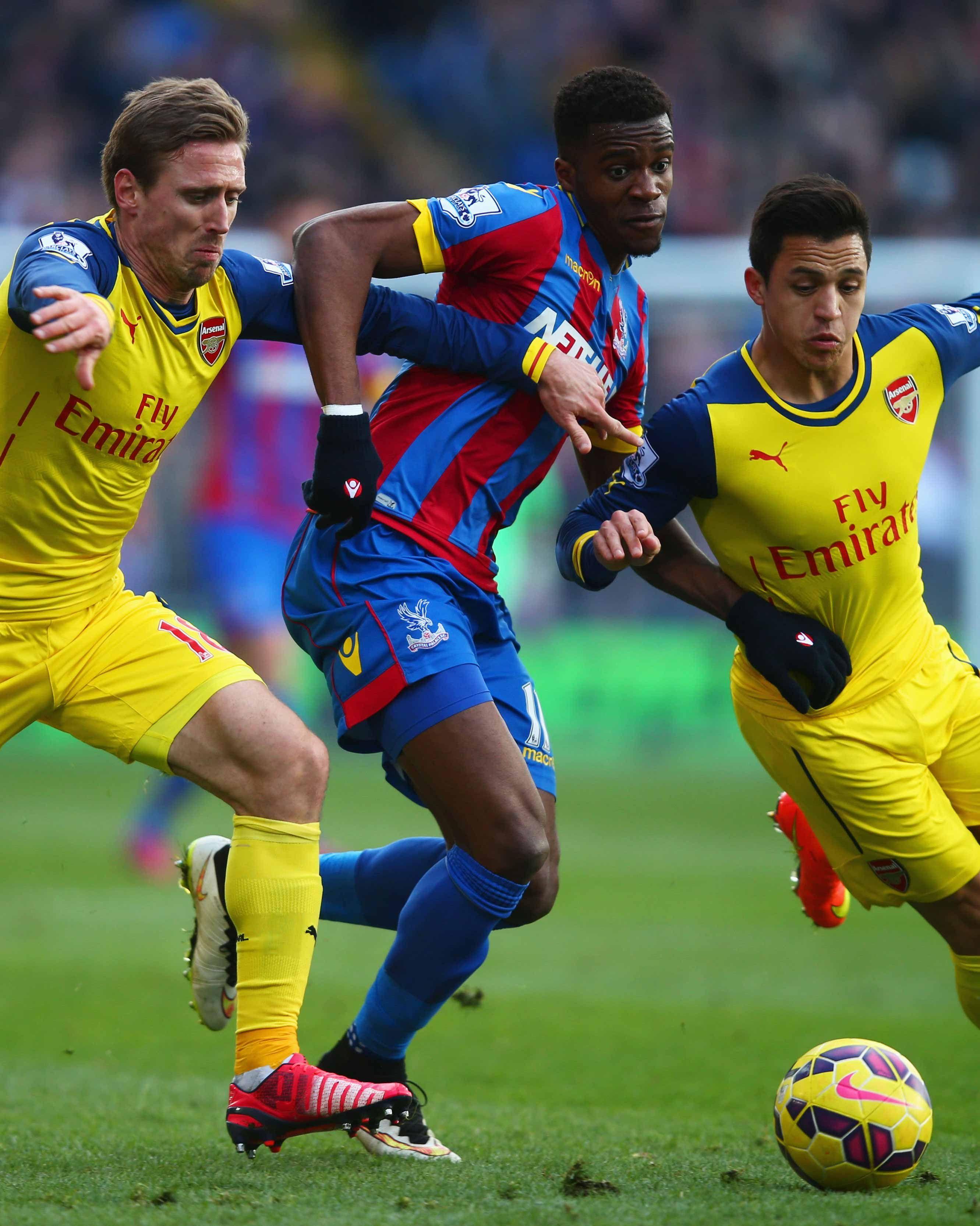 Barclays Premier League CRYSTAL PALACE VS ARSENAL