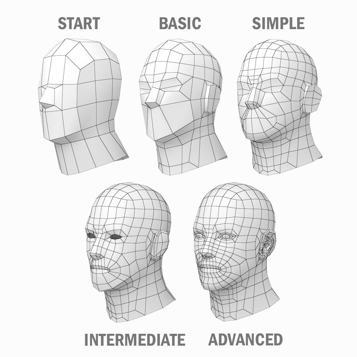 Male Hero Base Mesh In A Pose 3d Face Model 3d Model Character 3d Character