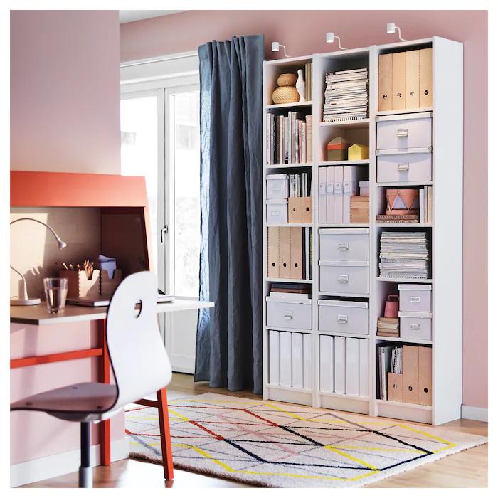 BILLY white, Bookcase, 40x28x202 cm   IKEA in 2020   White ...