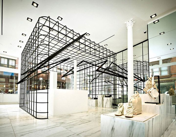 Alexander Wang Flagship Store By Kramer Design Group New York Soho